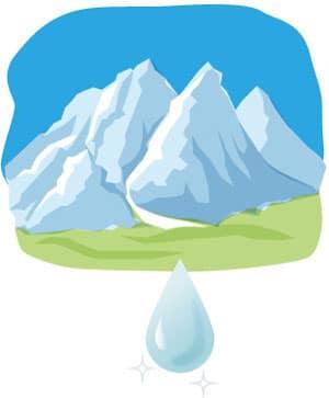 天然水ができるイメージ