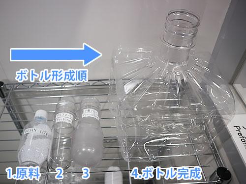 ボトルの形成順