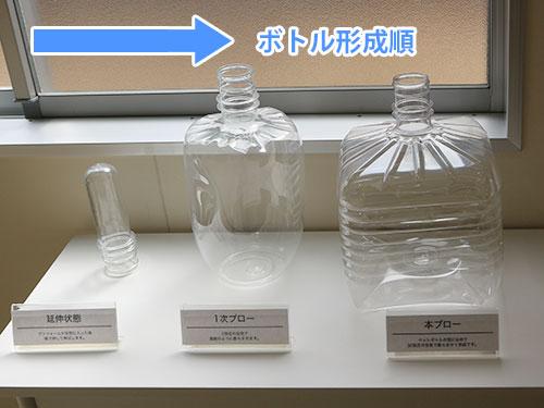 ボトル成型の順