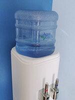 M.Hさんのアクアクララ「アクアファブ」ホワイトのボトルカバーを取った写真