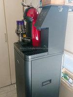 C.Sさんアクアクララ「アクアウィズ」のネスカフェ ドルチェグスト一体型のコーヒーマシン、水サーバー部分