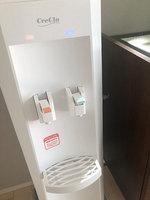 r.iさん「クリクラFit」の設置写真、出水レバー、水受け皿