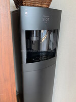 haruさんフレシャス「スラット+カフェ」マットブラック、コーヒーホルダーを装着した写真