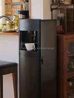 S.Hさんフレシャス「スラット+カフェ」マットブラック斜め全体