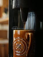S.Hさんフレシャス「スラット+カフェ」マットブラックコーヒー抽出時