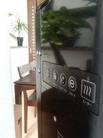 kodaminさんキララスマートサーバーブラックの設置風景、背面の操作パネル