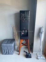 yanappleさんプレミアムウォーター「アマダナウォーターサーバー」ブラックの設置写真 正面全体