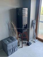 yanappleさんプレミアムウォーター「アマダナウォーターサーバー」ブラックの設置写真 斜め全体