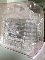 Rさんプレミアムウォーター「スリムサーバーIIIショート」ベビーピンクのボトルカバー