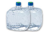 水ボトル2本
