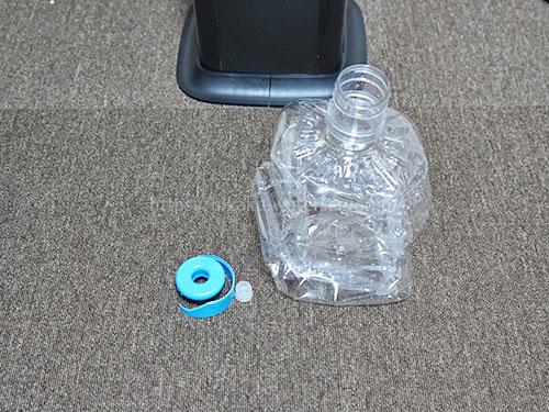 アキュアマインの空ボトルのゴミ