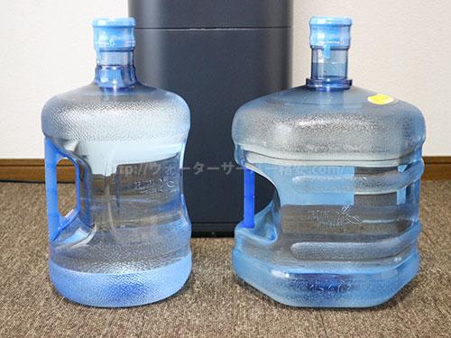 アクアクララの7Lボトルと12Lボトル