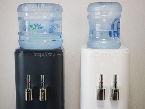 アクアクララの7Lボトルと12Lボトルセット時