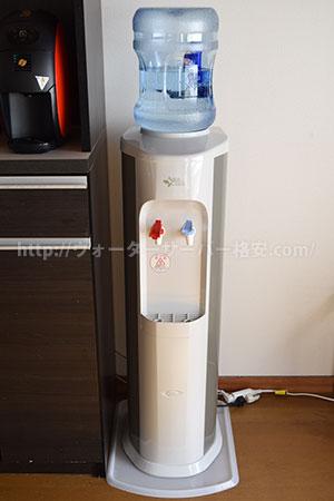 アクアスリム設置完了8Lボトル