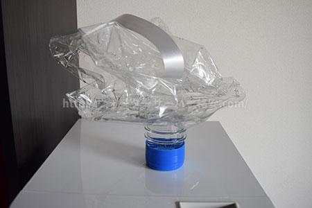 使い終わったコスモウォーターのボトル