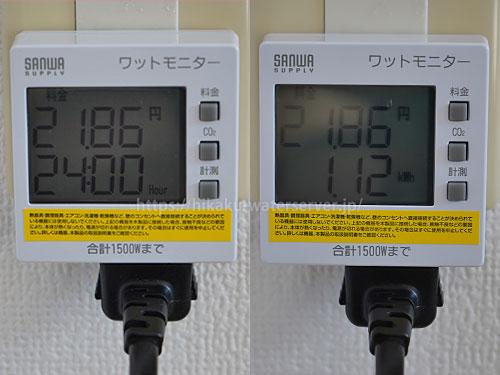 キララ「スマートサーバー」の電気代を計測結果