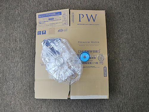 プレミアムウォーター空容器のゴミ