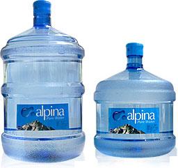 アルピナ5ガロン・3ガロンボトル