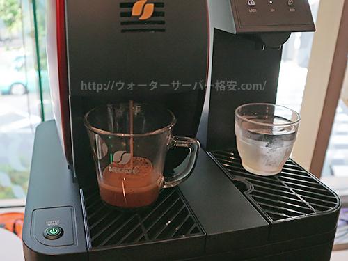 アクアウィズバリスタ搭載コーヒー抽出時