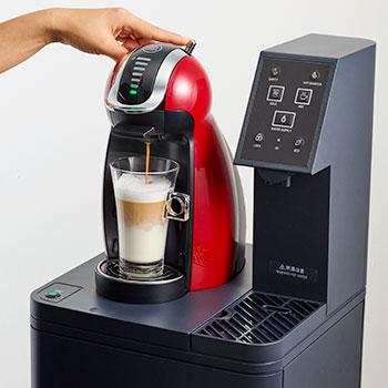 ドルチェ グスト一体型でコーヒー抽出