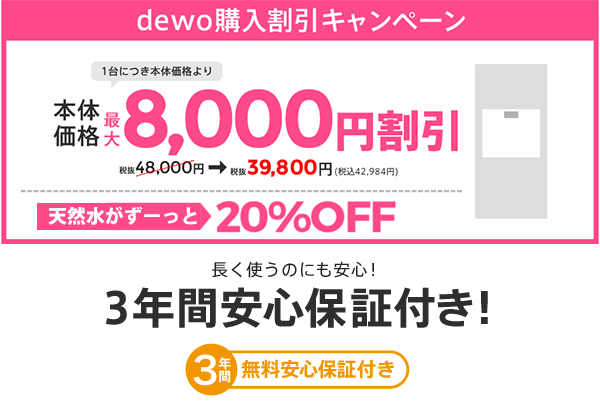 デュオの購入割引キャンペーン