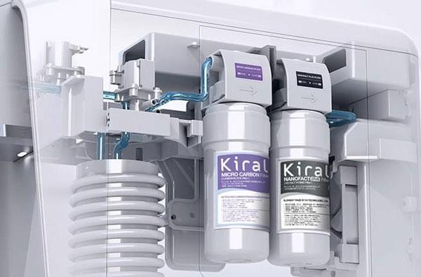 Kirala フレッシュフィルターの構造