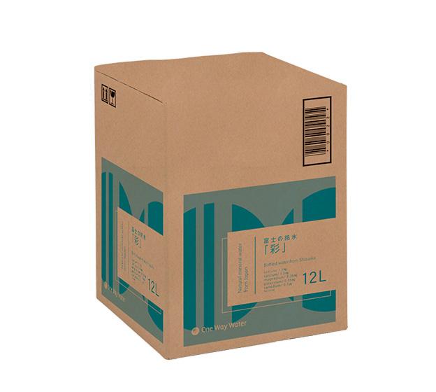 富士の銘水「彩(SAYA)」の箱