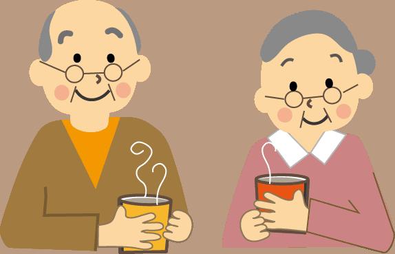 高齢者ウォーターサーバーでお茶